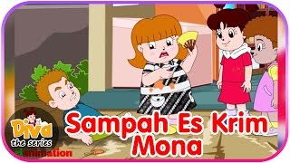 Sampah Es Krim Mona | Video Lucu Diva the series | Diva The Series Official
