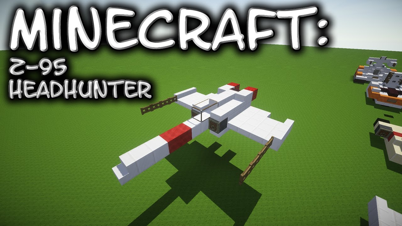 Build Tie Fighter In Minecraft