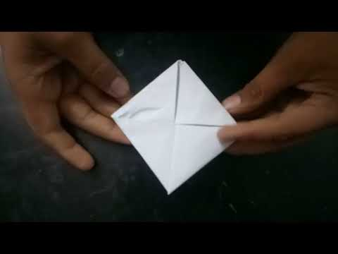 Make a paper beyblade in hindi