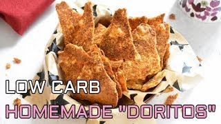 Low Carb  Keto Friendly  Gluten Free  Homemade &quotDoritos&quot
