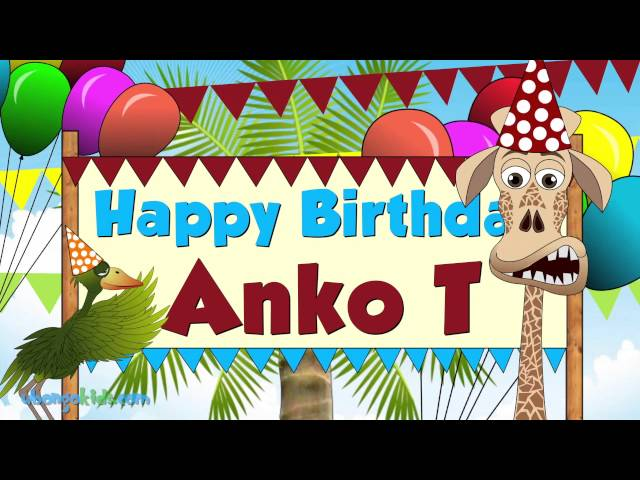 HBD to Anko T! - Ubongo Kids Singalong - African Animation