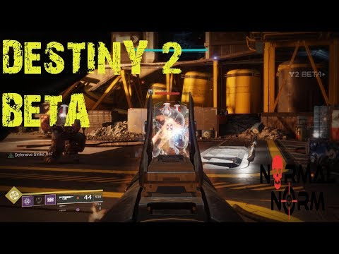 Destiny 2  PC Beta Action (4K)