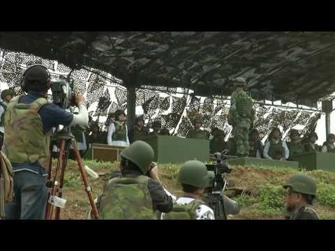 台湾澎湖汉光实弹演习 解放军又成假想敌