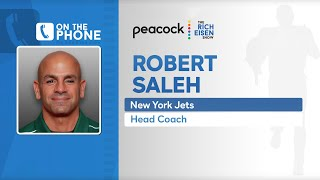 Jets Head Coach Robert Saleh Talks Darnold, Coaching Style & More with Rich Eisen | Full Interview