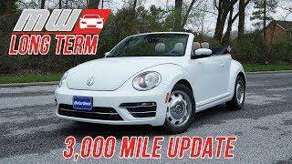 Long Term: 2018 Volkswagen Beetle Convertible (3,000 mile update)