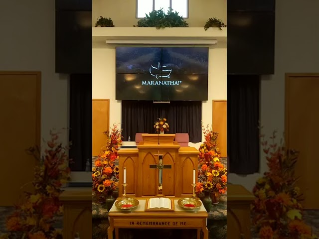 Worship service 10/18/2020
