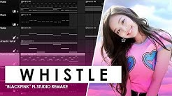 Download Blackpink whistle instrumental mp3 free and mp4