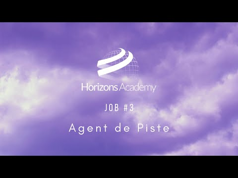 JOB #3 - Agent de Piste