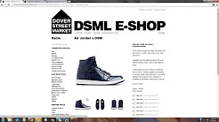 """Dover Street Market"" Air Jordan 1 