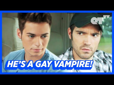 Shirtless Vampires Want To Drain This Hot Gay Couple | Gay Horror | 'Bite Marks'