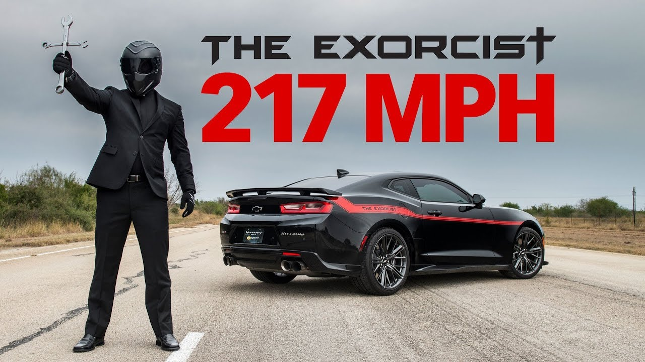 The Exorcist 217 Mph Top Speed Test Youtube