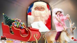 산타클로스에게 편지를 써요| 화천 산타클로스 우체국| hide and seek indoor playground fun for kids