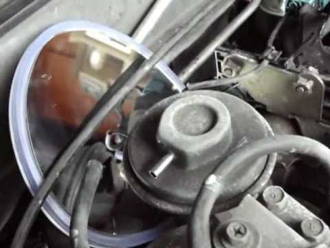How to Clean and Test EGR Valve on Nissan Altima 2001  YouTube