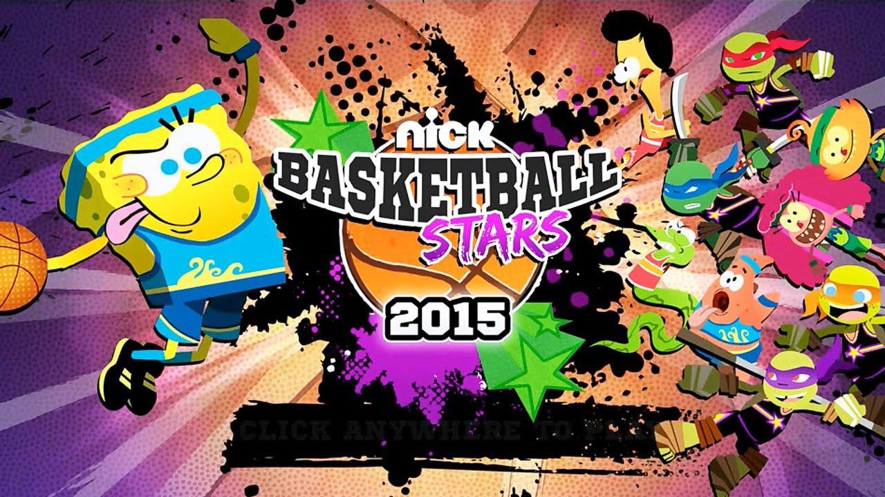 Nick Basketball Stars (Nick Games Gameplay)