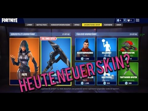 Bis Shop streamen! |Fortnite: Battle Royale| Deutsch|[LIVE] |