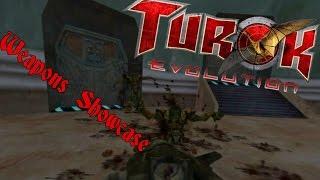 Turok: Evolution (Gamecube) - All Weapons (Showcase)