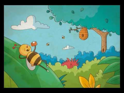 Cuentos de la selva para los nios La abeja haragana  YouTube