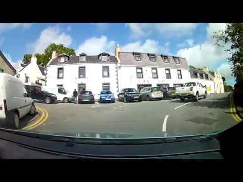 Isle of Skye dashcam video: Portree-Culnacnoc-Staffin-Quiraing-Idrigil