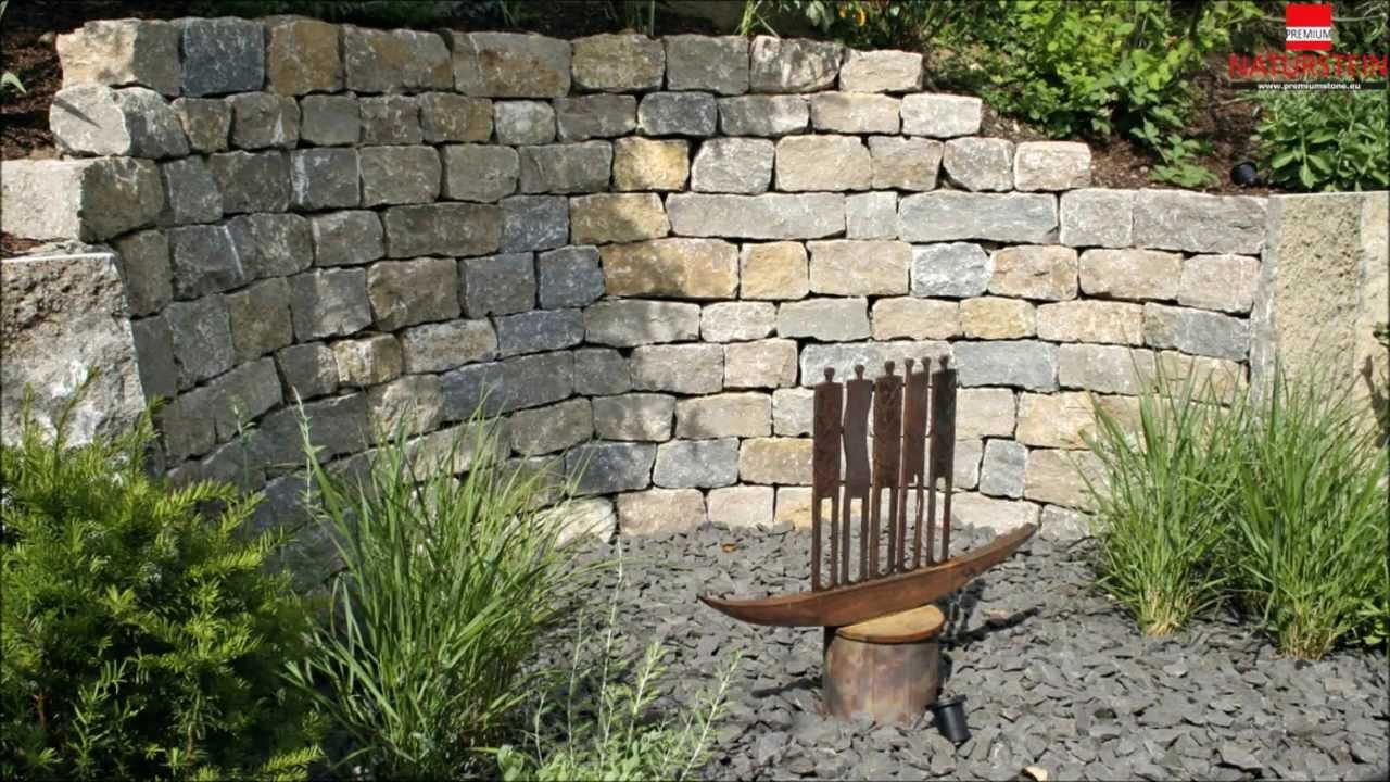 Garten u Landschaftsbau mit Fränkischem Muschelkalk YouTube ~ 13043926_Garten Essgruppe Mit Eckbank