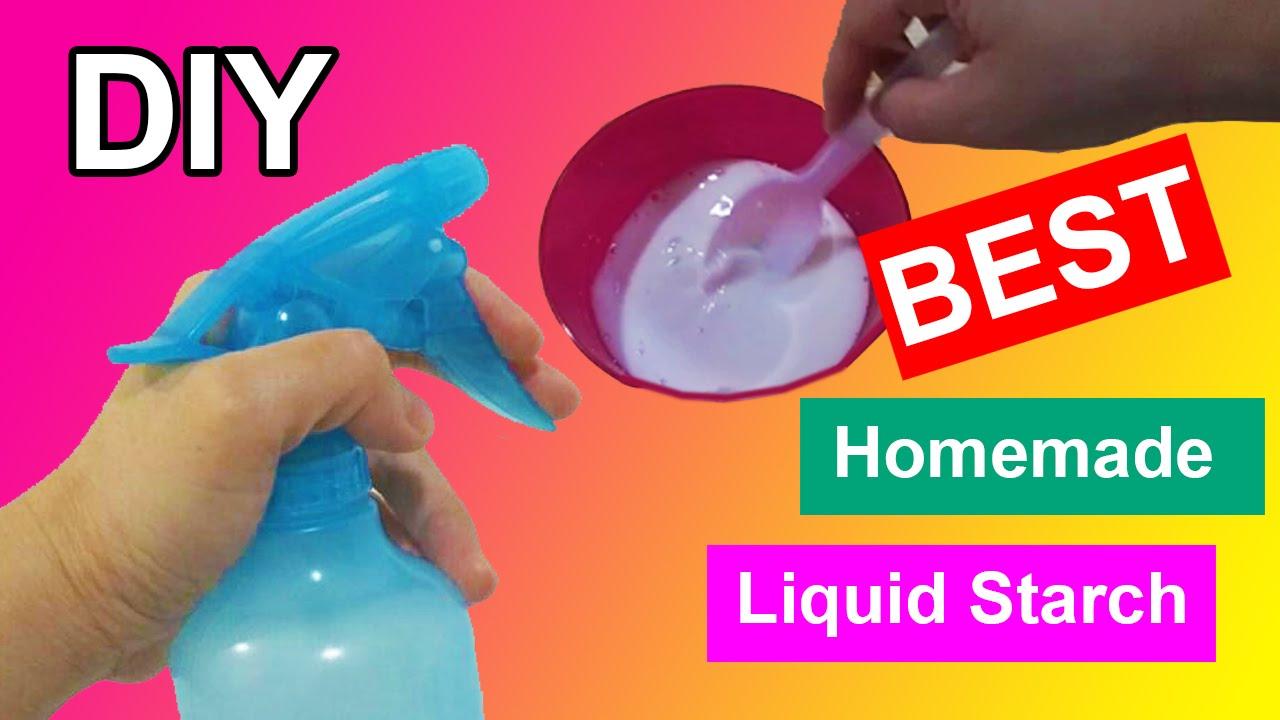 Best Diy Homemade Liquid Starch By Bum Bum Surprise Toys