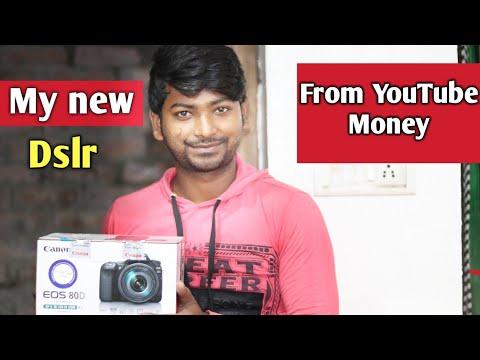 My new dslr || From YouTube Money || Patna vlog mearyan