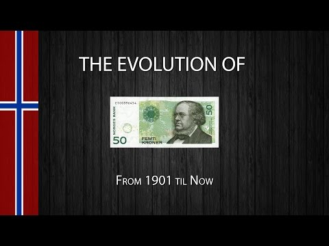 The Evolution of the Norwegian 50 Krone Note
