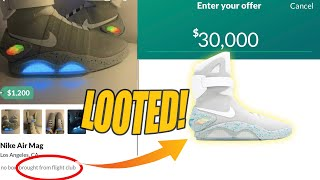 BUYING THE STOLEN NIKE AIR MAGS FROM