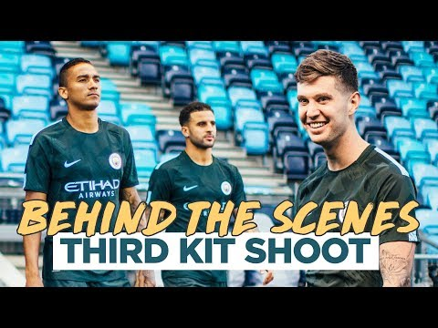MAN CITY THIRD KIT 2017/2018   Behind the Scenes with Nike