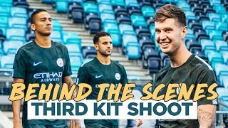 MAN CITY THIRD KIT 2017/2018 | Behind the Scenes with Nike