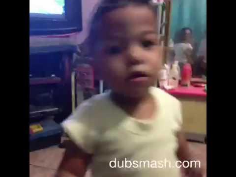 Video dubsmash anak kecil lucu nang ning nang e (fathir)