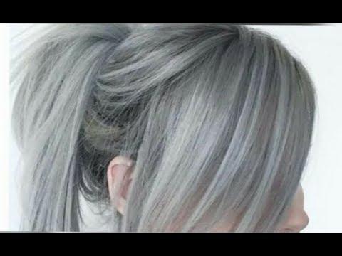 صبغة الشعر رمادي يهبل فقط بعلبة واحدة غارتييه ناجح خطوة بخطوة كما صورة الفديو Youtube