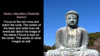Optical Illusion: Motion Aftereffect (Waterfall Illusion)