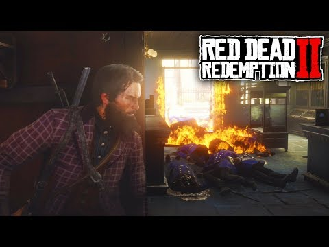BEING NAUGHTY IN SAINT DENIS | Red Dead Redemption 2 Free Roam
