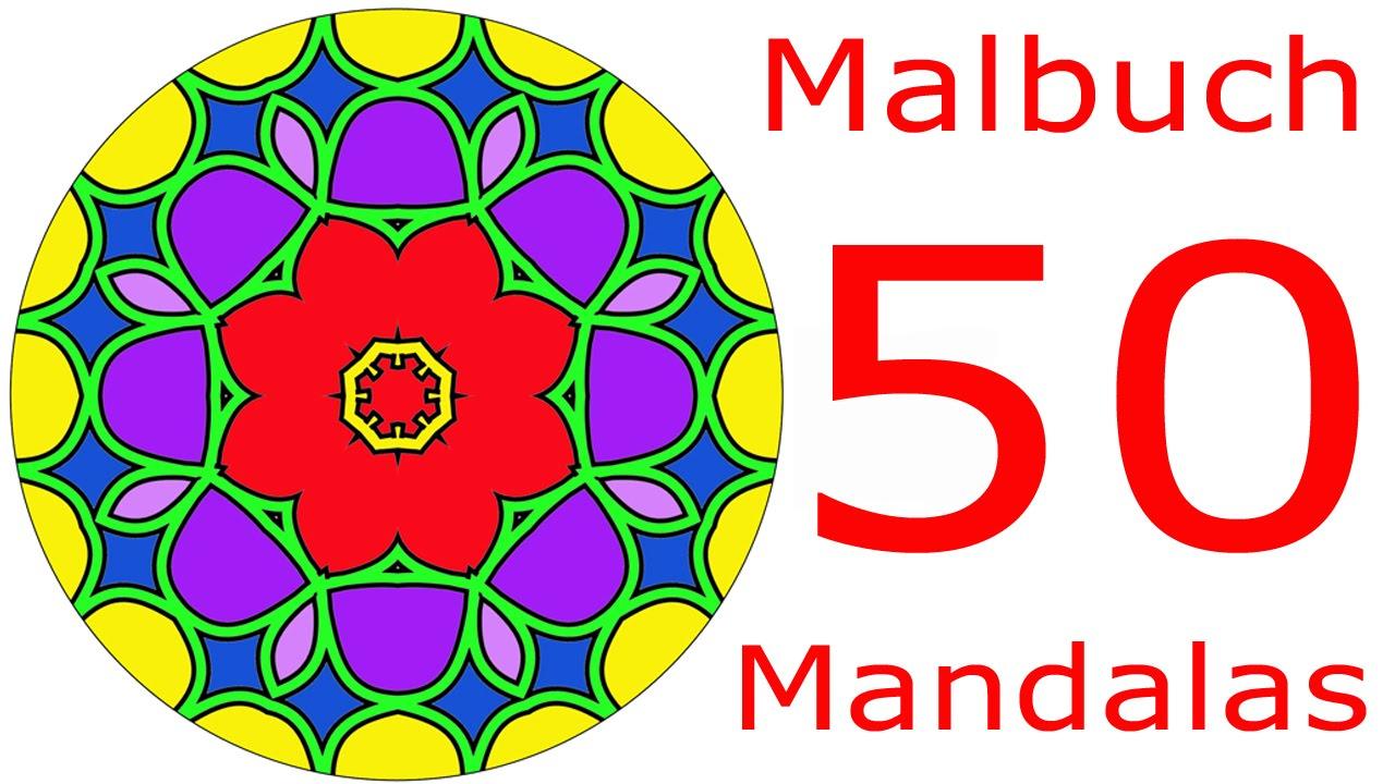 Mandala - Malbuch für Erwachsene PRO Ausmalbilder - Malvorlagen ...
