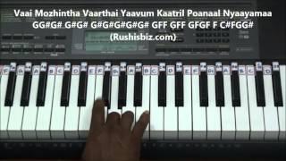 Sundari Kannaal Oru Saethi - Piano Tutorials -Thalapathi   600 NOTES - 7013658813 - WHATSAPPUS