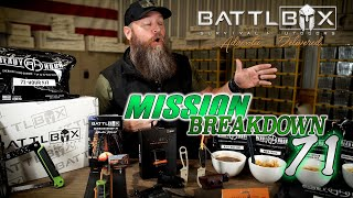 BATTLBOX MISSION 71 BREAKDOWN