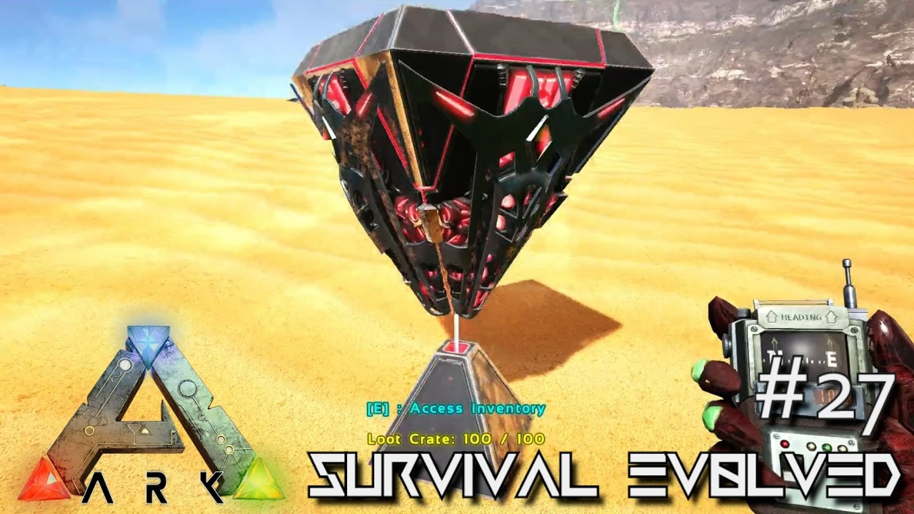 Ark scorched earth force spawn loot crates desert deep sea e27 ark scorched earth force spawn loot crates desert deep sea e27 ark survival evolved gameplay youtube malvernweather Gallery