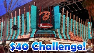 $40 Slot Challenge - Buffalo Gold and MORE! - FDC1 - Inside the Casino