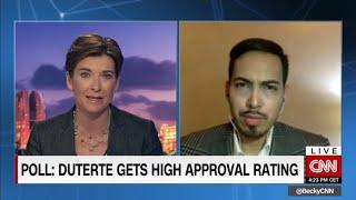 Richard Heydarian CNN Interview on Duterte Popularity