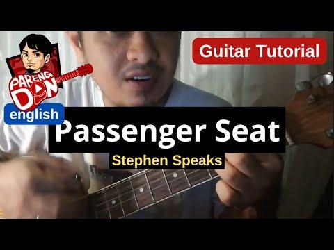 Guitar tutorial - Passenger Seat (Stephen Speaks) chords guitar lesson