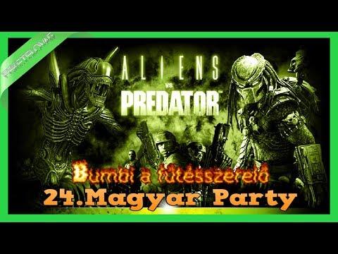 Aliens vs Predator 2010 l 24.Magyar Party - Bumbi a fűtésszerelő [1080p-HD]