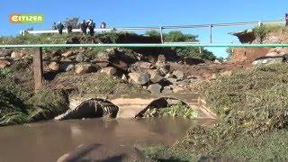 VIDEO: Transport between Londiani-Muhoroni cut off as bridge collapses
