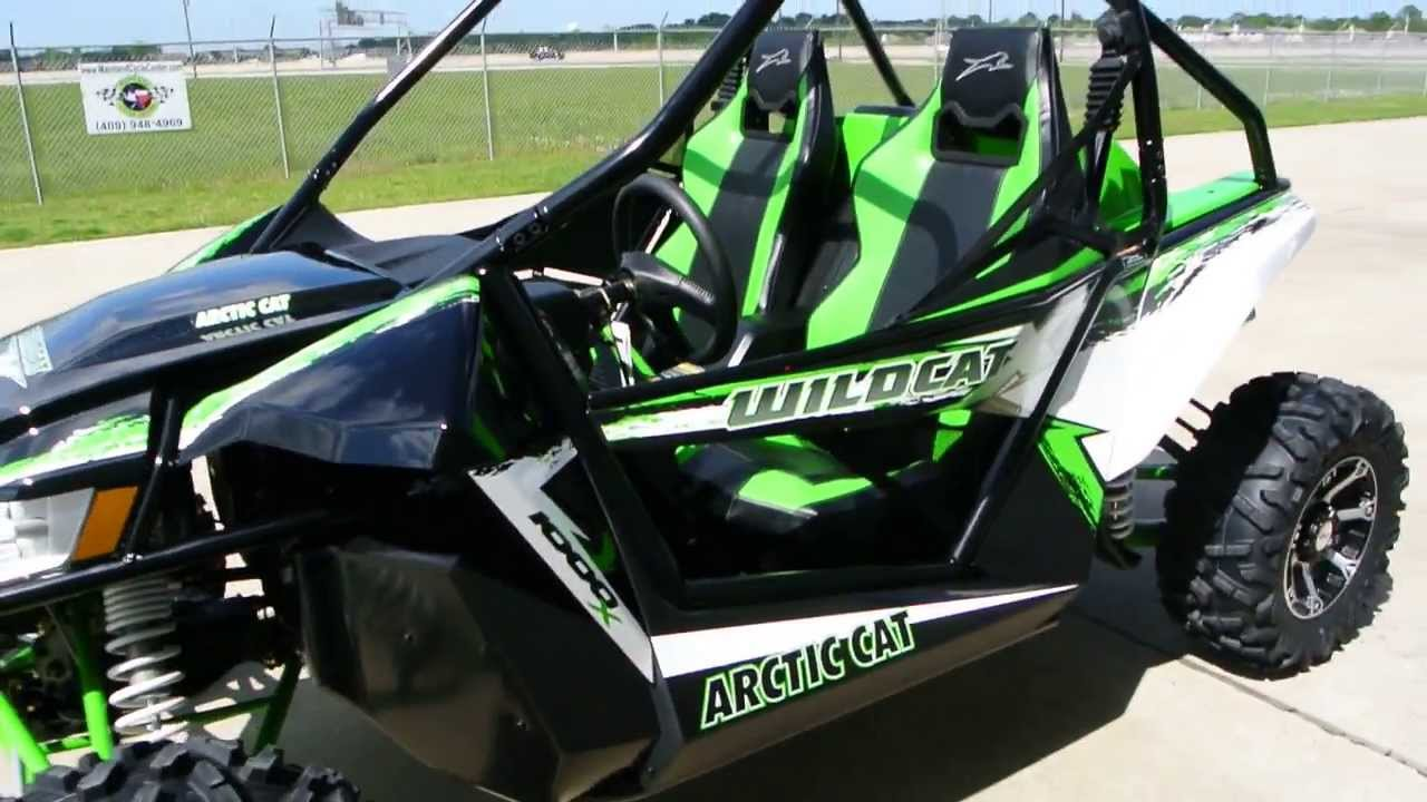 $19,999: 2016 arctic cat wildcat x limited matte black and team.