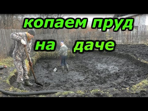 Как сделать свой пруд