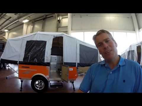 2016 Livin' Lite 8.1 Quicksilver Tent Camper with Offroad Package, only 865 Pounds!