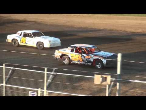 IMCA Hobby Stock Heats Independence Motor Speedway 7/29/17