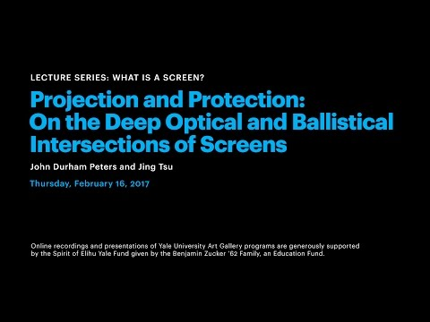 What Is a Screen?: Projection and Protection