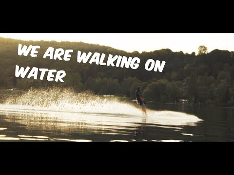 We Are Walking On Water || Slalom Water Ski Session Bodensee || Sony A6500 Cinematic 4K