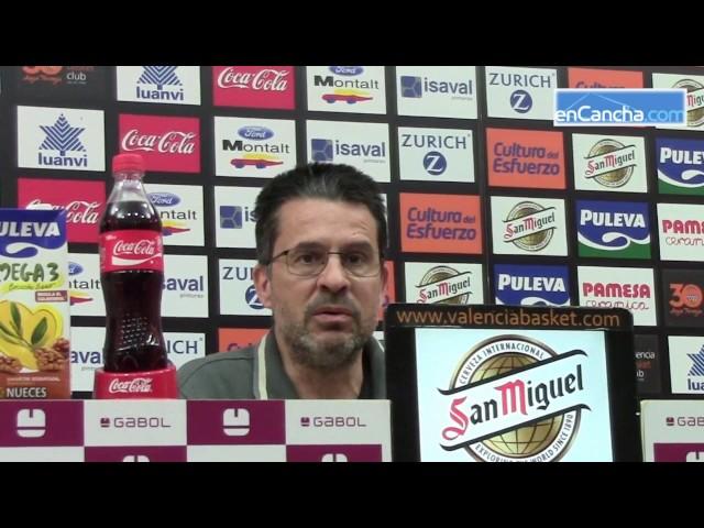 Pedro Mart�nez previa Morabanc Andorra vs Valencia Basket