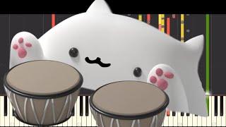 Bongo Cat Song - NPT MUSIC Remix - CG5 - Piano Cover